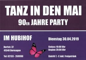 Hubihof - Tanz in den Mai